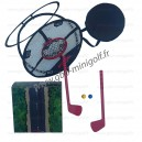 Jeu cible filet (2 clubs)