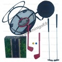 Jeu cible filet (4 clubs)